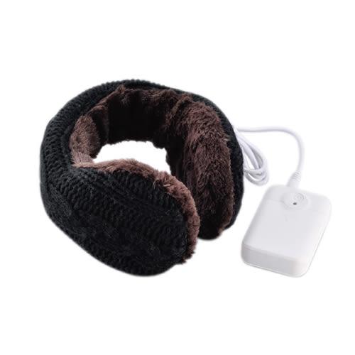 Lourdes電池式溫熱保暖耳罩(黑色)512BK