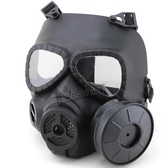 廠家直銷防毒面具鏡片舒適透氣排汗戶外實戰防霧面罩