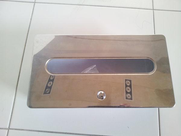 【麗室衛浴】義大利inda 埋壁式衛生紙盒 特價出清只有一只飯店看樣用