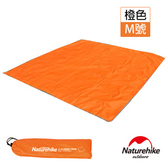Naturehike 戶外6孔帳篷地席天幕帳布 M號 3-4人橙色