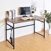 書桌 工作桌 桌 雷恩120X60cm簡約工作桌(附掛勾) 凱堡家居【B05134】