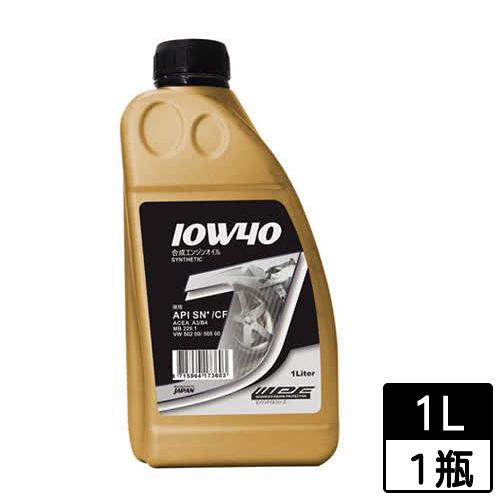 IPF J合成機油 10W40 SN 1L【愛買】