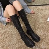 長靴女不過膝靴2020新款靴子加絨秋冬款網紅長筒秋款鞋高筒騎士冬 蘿莉新品