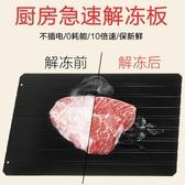 解凍板 日本進口8倍急速閃電解凍板快速解凍盤牛排海鮮魚肉廚房用品L號 mks宜品