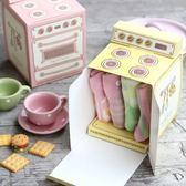 【BlueCat】趣味烤箱瓦斯爐包裝盒 禮物盒 糖果盒 (5入裝)