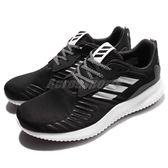 adidas 慢跑鞋 AlphaBOUNCE RC M 黑 銀 白 低筒跑鞋 鯊魚腮 運動鞋 男鞋【PUMP306】 B42652