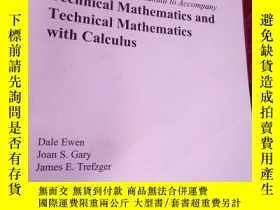 二手書博民逛書店Technical罕見Mathematics and Techn