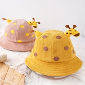 小鹿角和尾巴點點漁夫帽 童帽 帽子 遮陽帽