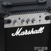 吉他音箱 正品英國MARSHALL吉他音箱馬歇爾MG10CF原聲失真馬勺電吉他音響 城市玩家