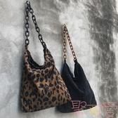 燈芯絨布袋子環保文藝購物袋女書包單肩拉鏈布包包【聚可愛】