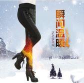 羽絨棉褲女外穿高腰中老年人加厚大碼棉褲顯瘦修身加絨保暖褲冬季     ciyo黛雅