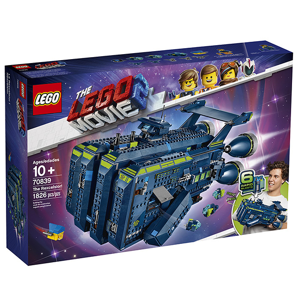 LEGO 樂高 樂高玩電影2 70839 雷斯太空飛船 【鯊玩具Toy Shark】