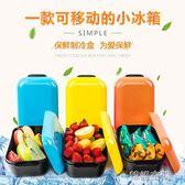 日式冷鮮盒保冷便當飯盒餐盒保鮮製冷可微波爐