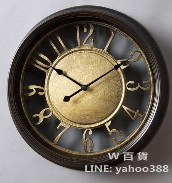歐式掛鐘(白裂紋)
