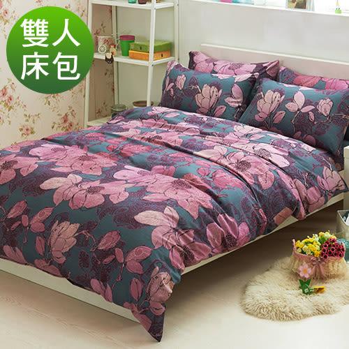柔絲絨 三件式床包組-木蘭清香/雙人/超取/RODERLY