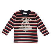 【愛的世界】純棉圓領長袖T恤/2~3歲-台灣製- ★秋冬上著