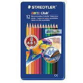 [奇奇文具] 【施德樓 STAEDTLER 色鉛筆】STAEDTLER MS14410M12 水性色鉛筆 12色