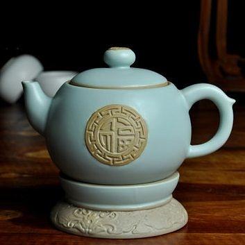汝窯陶瓷功夫茶壺
