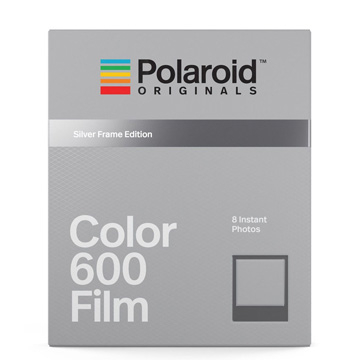 【過期品】Polaroid Color Film for 600 Silver Frames 彩色底片(銀框4675)/2盒