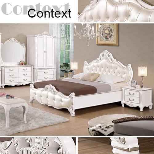 時尚屋】[C]夏洛蒂6尺法式加大雙人床029-1(只含床頭-床架-不含床墊) 免運費/免組裝