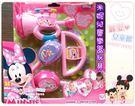麗嬰兒童玩具館~Disney迪士尼-米妮兒童樂器玩具組.Minnie樂團.三種樂器一次擁有~