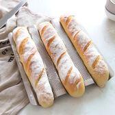 學廚3槽不沾長條法式面包法棍模具不粘波浪吐司烘焙烤盤烤箱家用  巴黎街頭