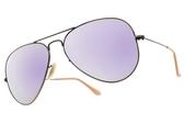 RayBan 水銀太陽眼鏡 RB3025 1671R (復古金-紫水銀綠鏡片) 熱門時尚款 水銀墨鏡 # 金橘眼鏡