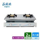 莊頭北_二環崁爐(不鏽鋼面) TG-7001TS送標準安裝(BA010008)