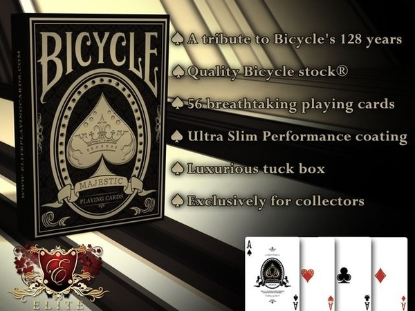 【USPCC撲克】Bicycle Majestic 128 years of heritage 128年傳統撲克牌