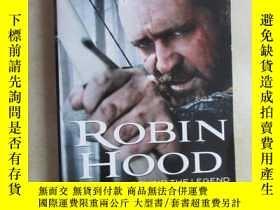 二手書博民逛書店英文書罕見ROBIN HOOD THE STORY 共298頁Y15969