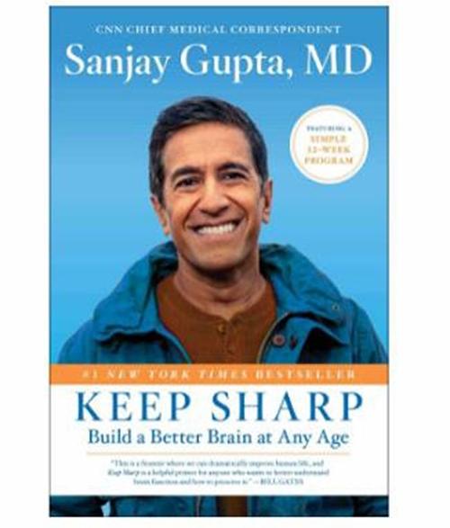 [2美國直購] 2021 AMAZON 暢銷書排行榜 Keep Sharp: Build a Better Brain at Any Age (English) Hardcover – 5 1 月 2021