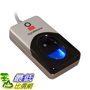 [9美國直購] 指紋讀取器 DigitalPersona U.are.U 4500HD USB fingerprint reader without software B002S3ZSJU