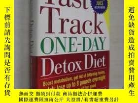 二手書博民逛書店英文原版罕見The Fast Track One-Day Det