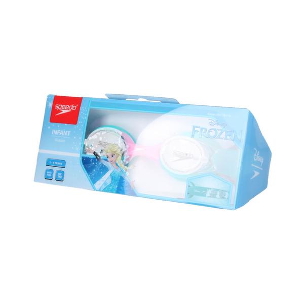 SPEEDO 幼童運動泳鏡-冰雪奇緣 (游泳 蛙鏡 抗UV 兒童  ≡排汗專家≡