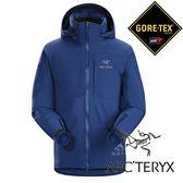 【Arc'teryx 始祖鳥】男 單件式GORE-TEX化纖保暖外套 (內裡:CORELOFT)『崔萊頓藍』L06926