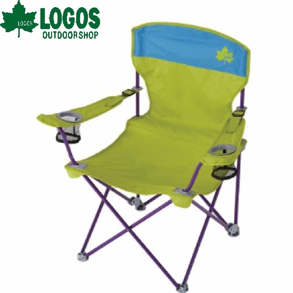 【LOGOS 日本 RECLINING兩段椅 綠】 73172006/導演椅/折疊椅/休閒椅/露營椅