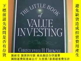 二手書博民逛書店The罕見Little Book of Value Invest