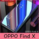 【萌萌噠】歐珀 OPPO Find X  電鍍鏡面智能支架款保護殼 立式休眠免翻蓋接聽側翻皮套 手機套