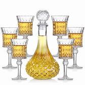 玻璃紅酒杯套裝酒具洋酒杯紅酒杯DSHY
