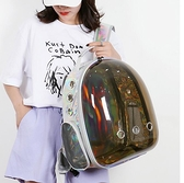 寵物外出包 貓包太空艙寵物背包貓咪外出便攜包貓書包透氣箱狗雙肩包TW【快速出貨八折鉅惠】