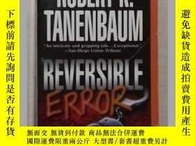 二手書博民逛書店英文原版罕見Reversible Error by Robert