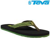 TEVA 超輕量舒適記憶鞋床織帶夾腳拖 Mush 2– 昆西綠