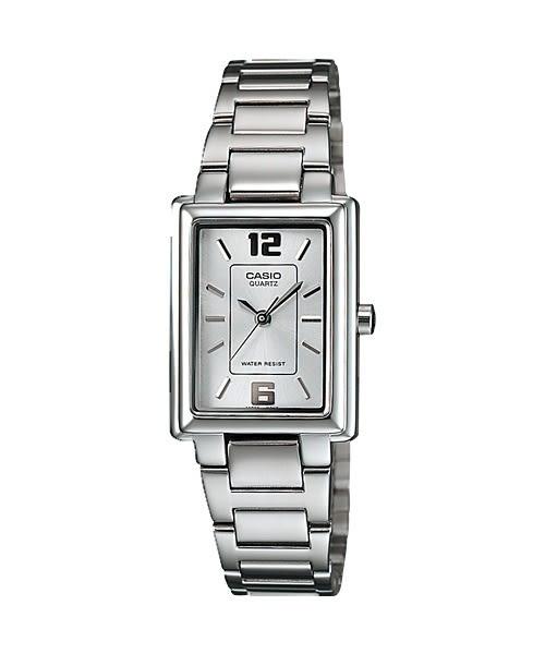 CASIO卡西歐 LTP-1238D-7A 女錶 方錶 時 分 秒針顯示 經典時刻 腕時計LTP-1238D-7ADF