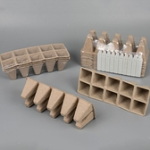CARMO紙漿育苗盤/杯 多肉植物盆栽 園藝資材【C11003】