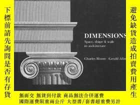 二手書博民逛書店Dimensions:罕見Space, Shape & Scal