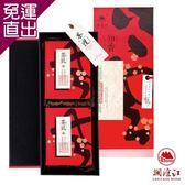 瀾滄江 知香名茶普洱茶禮盒-雙文堂200g×2/盒【免運直出】