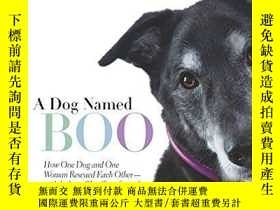二手書博民逛書店A罕見Dog Named Boo: How One Dog and One Woman Rescued Each