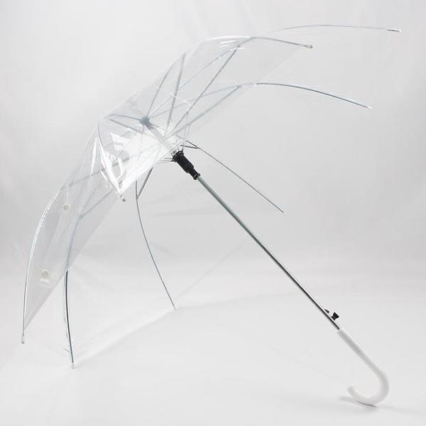 透明雨傘長柄網紅男女小清新個性廣告低價批量透明加厚 「雙10特惠」