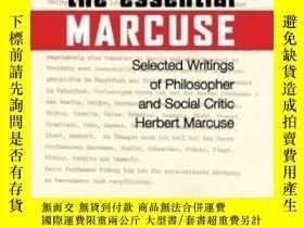 二手書博民逛書店The罕見Essential MarcuseY255562 Herbert Marcuse Beacon Pr