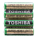 TOSHIBA 東芝 環保碳鋅3號電池 4入 AA 1.5V 型號R6
